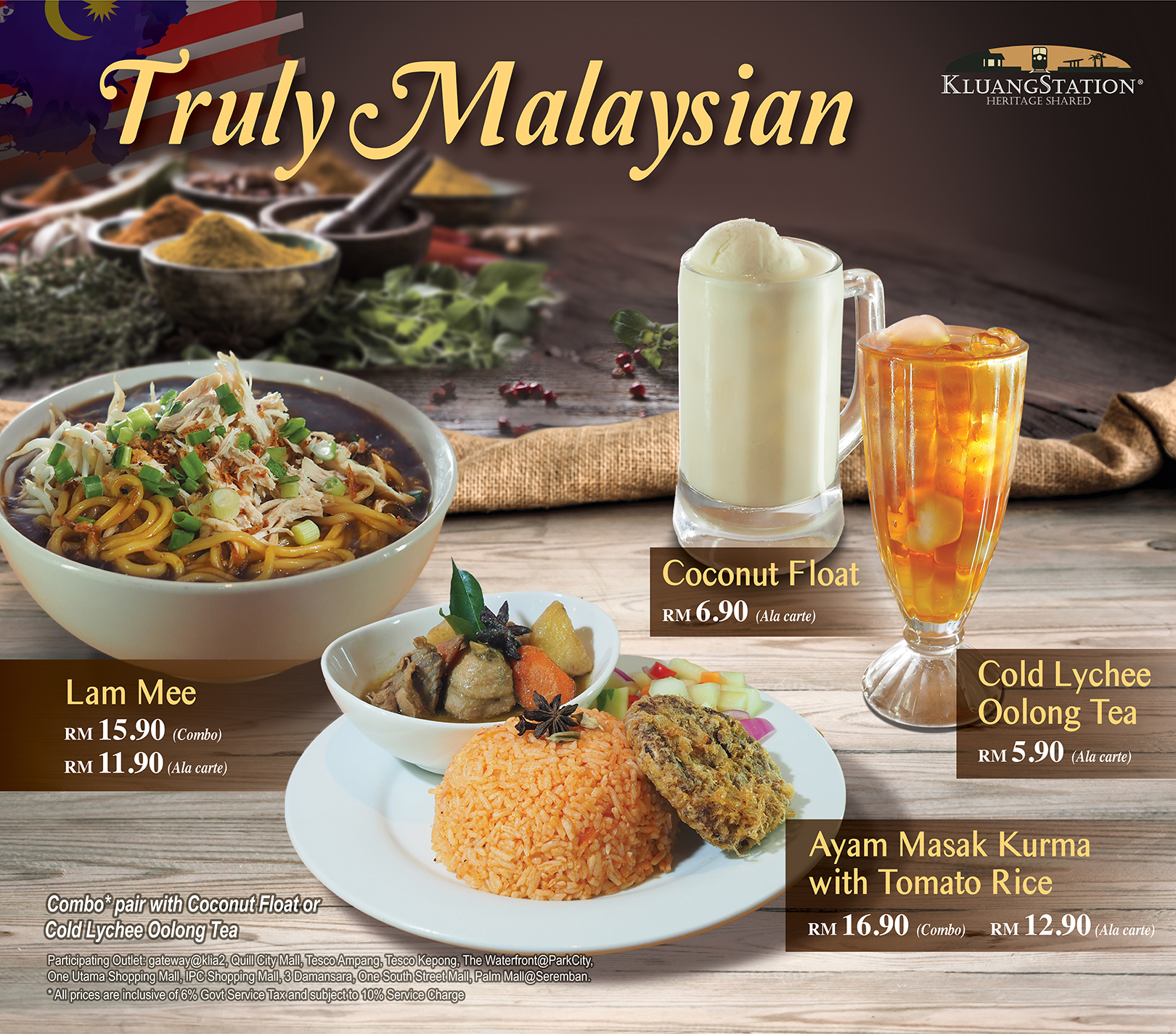 April Promotion: Truly Malaysian